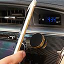 Недорогие Крепления и держатели для телефонов-магнитный автомобильный держатель телефона универсальный настенный металлический магнит стикер мобильная подставка держатель ключа автомобильное крепление