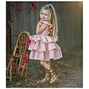 halpa Lasten sandaalit-Vauva Tyttöjen Perus dusty Rose Yhtenäinen Hihaton Mekko Punastuvan vaaleanpunainen
