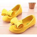 preiswerte Kleidersets für Mädchen-Mädchen Schuhe Wildleder Frühling Komfort Flache Schuhe für Kinder / Junior Gelb / Fuchsia / Rosa
