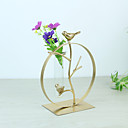 cheap Decorative Objects-Decorative Objects, Glasses Metal Modern Contemporary Simple Style for Home Decoration Gifts 1pc