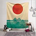 זול שטיחי קיר-נושא קלאסי קיר תפאורה 100% פוליאסטר מודרני וול ארט, קיר שטיחי קיר תַפאוּרָה
