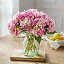 halpa Tekokukat-Keinotekoinen Flowers 1 haara Klassinen Häät Hääkukat Hortensiat Eternal Flowers Pöytäkukka