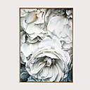 Недорогие Печать на холсте-С картинкой Отпечатки на холсте - Модерн Цветочные мотивы / ботанический Modern
