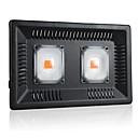 preiswerte LED Pflanzenlampe-1 set 100 W 5000 lm 1 LED-Perlen Vollspektrum Leicht zu installieren Für Gewächshaus Hydroponisch Wachsende Leuchte Lila 220-240 V 110-120 V kommerziell