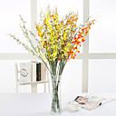 halpa Tekokukat-Keinotekoinen Flowers 5 haara Klassinen Näyttämötarpeet Eurooppalainen Orkideat Eternal Flowers Pöytäkukka