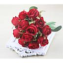 halpa Tekokukat-Keinotekoinen Flowers 1 haara Klassinen Häät Hääkukat Ruusut Eternal Flowers Pöytäkukka