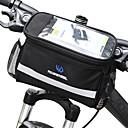 cheap Bike Frame Bags-ROSWHEEL 4.5 L Bike Handlebar Bag Moistureproof Wearable Shockproof Bike Bag PVC(PolyVinyl Chloride) 600D Polyester Bicycle Bag Cycle Bag Samsung Galaxy S6 / iPhone 4/4S / LG G3 Cycling / Bike