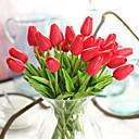Недорогие Искусственные цвет-Искусственные Цветы 10 Филиал Классический европейский Простой стиль Тюльпаны Вечные цветы Букеты на стол