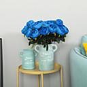halpa Tekokukat-Keinotekoinen Flowers 1 haara Klassinen Traditionaalinen / klassinen Eurooppalainen Pioonit Eternal Flowers Pöytäkukka