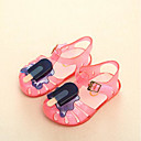 זול סנדלים לילדים-בנות ג'לי PVC סנדלים פעוט (9m-4ys) / ילדים קטנים (4-7) צהוב / אדום / כחול קיץ