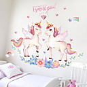 cheap Wall Stickers-Decorative Wall Stickers - 3D Wall Stickers / Animal Wall Stickers Animals / 3D Bathroom / Dining Room / Study Room / Office
