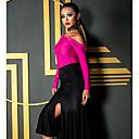 economico Abbigliamento balli latino-americani-Balli latino-americani Top Per donna Prestazioni Elastene Con ruche Manica lunga Top
