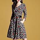 Eleganta klänningar med tryck