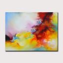 halpa Abstraktit maalaukset-Hang-Painted öljymaalaus Maalattu - Abstrakti Klassinen Moderni Ilman Inner Frame