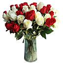 halpa Tekokukat-Keinotekoinen Flowers 5 haara Klassinen Traditionaalinen / klassinen Eurooppalainen Ruusut Eternal Flowers Pöytäkukka