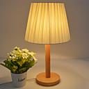 billige Bordlamper-moderne moderne kunstneriske omgivelser dekorative skrivebord / bordlampe for stuen kontor kontor soverom tre bambus 110-120v 220-240v rosa gul blå