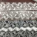 halpa Käsityöt ja ompelu-Pitsi Kukkakuviot Jakardi 4.8 cm leveys kangas varten Morsius myyty mukaan Määrä