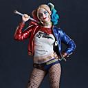 abordables Déguisements de Manga-Déguisement Halloween Femme Burlesques Cosplay Harley Quinn Halloween Costume de Cosplay Halloween Carnaval Mascarade Rouge Costumes Carnaval
