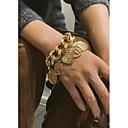 preiswerte Ringe-Damen Münze Armband Armband mit Anhänger Perlen Herzförmig Kostbar Romantisch Modisch Armbänder Schmuck Gold / Silber Für Geschenk Zeremonie Party Verabredung Festival
