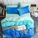 halpa Kiinteä pussilakanoiksi-Pussilakanasetti setit Ylellisyys / Stripes / Ripples / Boheemi Polyesteria Printed 4 osainenBedding Sets