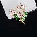 povoljno Moderni broševi-Žene Kubični Zirconia Broševi Stilski Broš Jewelry Zlato Za Vjenčanje Angažman Dar Ulica Ured i karijera