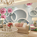 hesapli Duvar Çıkartmaları-duvar kağıdı / Duvar Tuval Duvar Kaplamaları - Yapıştırıcı gerekli Resim / Çiçekli / Art Deco