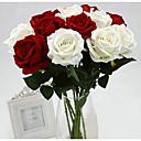 abordables Fleurs Artificielles-Fleurs artificielles 1 Une succursale Classique Soirée Mariage Roses Fleurs éternelles Fleur de Table