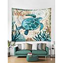 Χαμηλού Κόστους Wall Ταπετσαρίες-Θαλάσσιο ζώο Wall Διακόσμηση 100% Πολυέστερ Σύγχρονο Wall Art, Ταπετσαρίες τοίχου Διακόσμηση