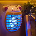 halpa Koristevalot-brelong® 1pc johti yön valo violetti AC powered sarjakuva eu hyönteisten hyttynen lentää tappaja 100-240 v