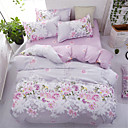 cheap High Quality Duvet Covers-Duvet Cover Sets Floral Polyster Printed 4 PieceBedding Sets