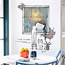 billige Vægklistermærker-børnelokale varm selvklæbende tapet klistermærker pige værelse dekoration sengelagrede baggrundsmure klistermærker sovesofa tapet selvklæbende