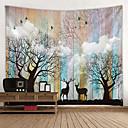halpa Seinämaalaukset-Puutarha-teema / Klassinen teema Wall Decor 100% polyesteri Moderni Wall Art, Seinävaatteet Koriste