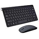 halpa muis toetsenbord combo-LITBest KB639 Langaton 2.4GHz Hiiren näppäimistö Combo Viralliseen käyttöön Office näppäimistö / Kalvonäppäimistö Quiet Office Mouse 1200 dpi