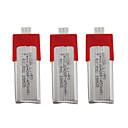 cheap RC Parts & Accessories-XK K120 7.4V 450mAh 3pcs Battery