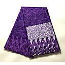povoljno Dječja plesna oprema-Afrička čipka Jednobojni Uzorak 120 cm širina tkanina za Odjeća i moda prodan od 5Yard