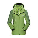 cheap Softshell, Fleece & Hiking Jackets-Women's Hiking Jacket Outdoor Winter Waterproof Windproof Antistatic Heat Retaining Top Camping / Hiking / Caving Winter Sports Sky Blue / Red / Forest Green