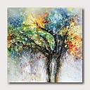 halpa Abstraktit maalaukset-käsin maalattu venytetty öljymaalaus kankaalle valmis ripustamaan abstrakti tyyli elämän puita