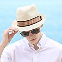preiswerte Parykopfbedeckungen-Sonstiges Material / Stroh Hüte mit Streifen 1 Stück Freizeitskleidung / Kentucky Derby Kopfschmuck