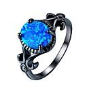 halpa Miesten sormukset-Naisten Cubic Zirkonia Sormus Muotisormukset Korut Sininen Käyttötarkoitus Lahja Päivittäin