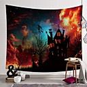 billiga Wall Tapestries-Jul Väggdekor Polyester Moderna Väggkonst, Vägg Tapestries Dekoration