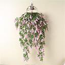 halpa Tekokukka-Keinotekoinen Flowers 1 haara Klassinen Moderni nykyaikainen Eurooppalainen Vaaleansininen Eternal Flowers Seinäkukka