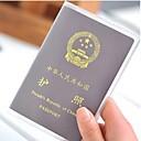 abordables Sécurité en Voyage-Etui à Passeport & Pièce d'Identité / Range Passeport Accessoire de Bagage PVC 18*13 cm