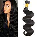 halpa Aitohiusperuukit-6 pakettia Brasilialainen Runsaat laineet Remy-hius Headpiece Hiukset kutoo Bundle Hair 8-28 inch Luonnollinen väri Hiukset kutoo Pehmeä Helppo pukeutuminen Paras laatu Hiukset Extensions Naisten