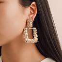 olcso Divat fülbevalók-Női Mértani Függők Tartsd fülbevaló Fülbevaló Egyszerű Európai Divat Modern Ékszerek Arany / Ezüst / Vörös arany Kompatibilitás Parti Farsang Munka Bár Fesztivál 1 pár