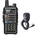 abordables Talkie-walkie-BAOFENG BF-UVS9 Portable Avertissement Batterie Faible / Logiciel PC Programmable / Invite Vocale 5 - 10 km 5 - 10 km 3800 mAh 8 W Talkie walkie Radio bidirectionnelle
