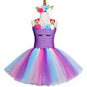povoljno Movie & TV Theme Costumes-2-12 godina fancy baby girl tutu haljina poni jednorog glavu halloween kostim