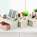 levne Ukládání šperků-skladování organizace kosmetický make-up organizér plastový čtverec odkrytý / double-layer