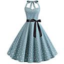 preiswerte Unterröcke für Hochzeitskleider-Damen Grundlegend A-Linie Kleid Einfarbig Übers Knie