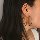 levne Módní náušnice-Dámské Náušnice Náušnice Šperky Zlatá / Stříbrná Pro Párty Výročí Denní Dovolená Festival 1 Pair