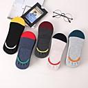 povoljno Čarape-5 Parovi Žene Čarape Više boja Dezodorans Pamuk EU36-EU46